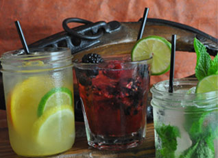 Sample saloon beverages