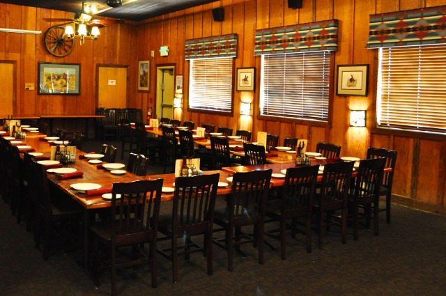 Livermore Cattlemens Dining Room