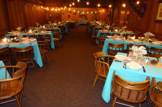 Lassen Petes Trinity Banquet Room