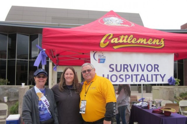 Scene from Relay for Life Event