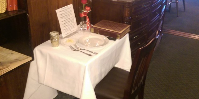 missing man table example