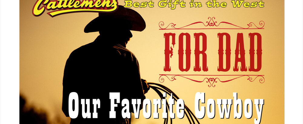 For Dad Our Favorite Cowboy, Image of Man on horse in shadow
