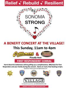 Montgomery Poster- Sonoma Strong