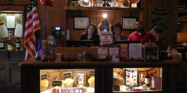 Front Desk team ready for Veterans Day