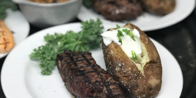 Honored to server an 8oz. Sirloin to all Veterans on 11/11