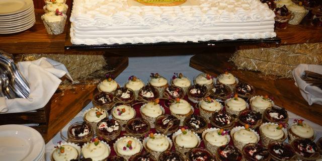 Dessert Table for Cattlemens 50th Anniversary