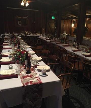 Dixon Banquet Room decorations
