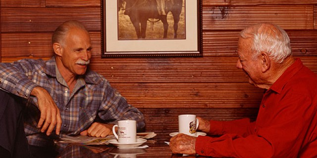 Pete Jr. and Pete Sr. Founders of Cattlemens Steakhouse