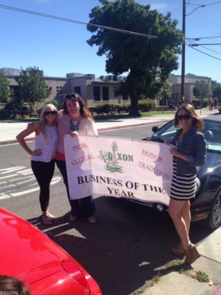 Business of the year banner