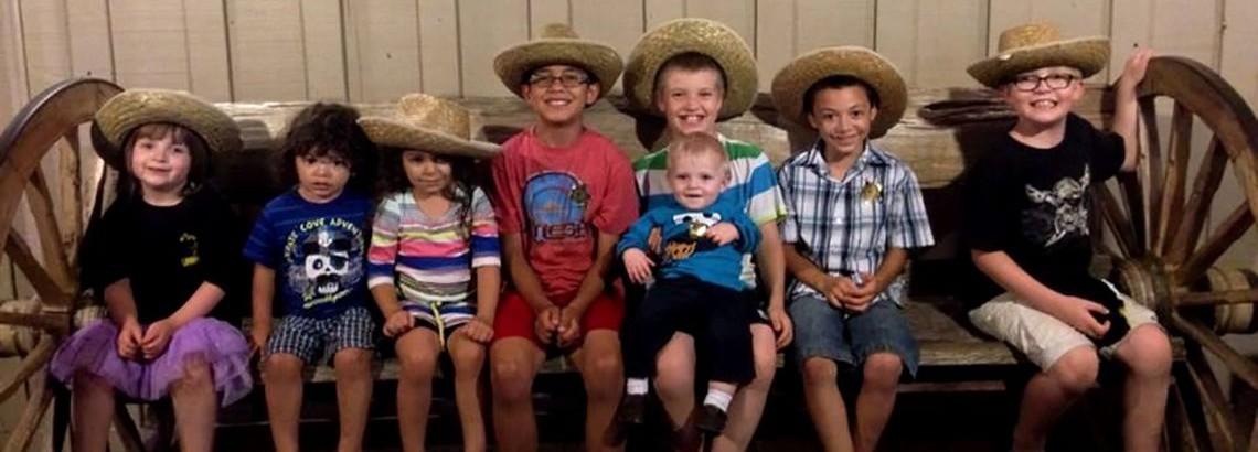 Kids at Cattlemens