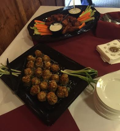 appetizer platters selma ribbon cutting