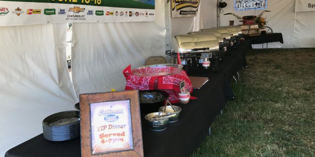 Dining Area at Country Summer Music Festival