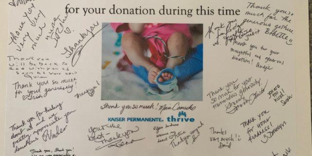Cattlemens donates to nurses